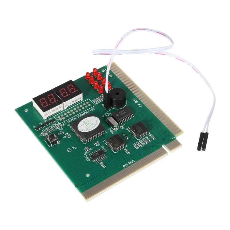 Ausdrucksvoll Für 4 Digit Pc Computer Diagnose Karte Motherboard Mainboard Post Tester Pci Isa Klar Und Unverwechselbar