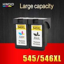 2 шт PG545 CL546 XL картриджи PG 545 CL 546 подходит для Canon IP 2850/MX495/MG2950 /MG2550/MG2450 принтеры