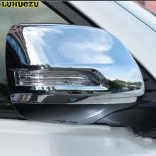 Chromed Rear-View Side Mirror Cover Trim For Toyota Land Cruiser Prado LC150 Accessories 2010-2017