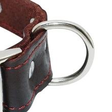 Engraved Genuine Leather Adjustable ID Collars