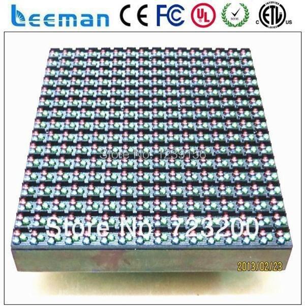 LEEMAN P10 RGB 16x16 светодиодный модуль --- Новый продукт Цена Торгового центра Реклама Мигающий Светодиод доска объявлений панели