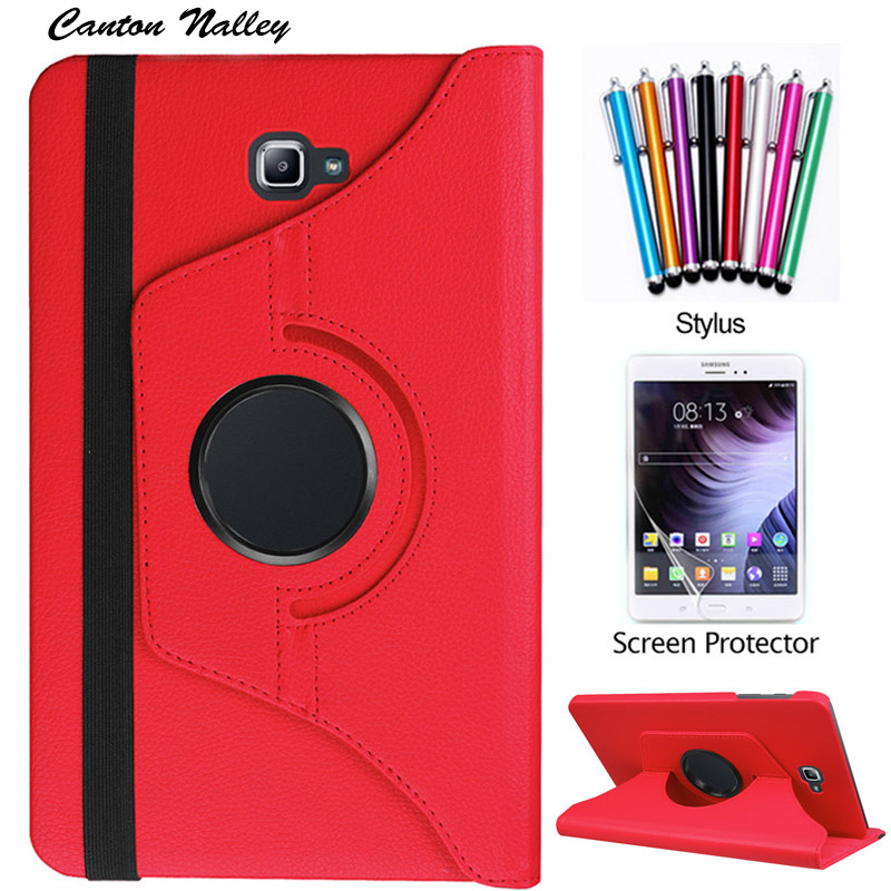 Canton Nalley 360 Rotating PU Leather Stand Case Cover For Samsung Galaxy Tab A 10 1