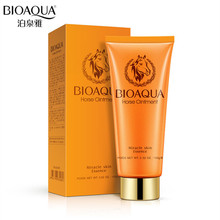 BIOAOUA Horse Essence Whitening Facial Cleanser Deep Cleansing Shrink Pores Skin Care Foaming 100ml
