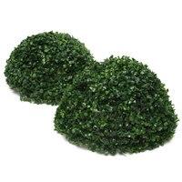 35 cm Plastikowe Conifer Topiary Topiary Piłkę Wiszący Ogród Patio Wystrój Elementy Ogrodowe