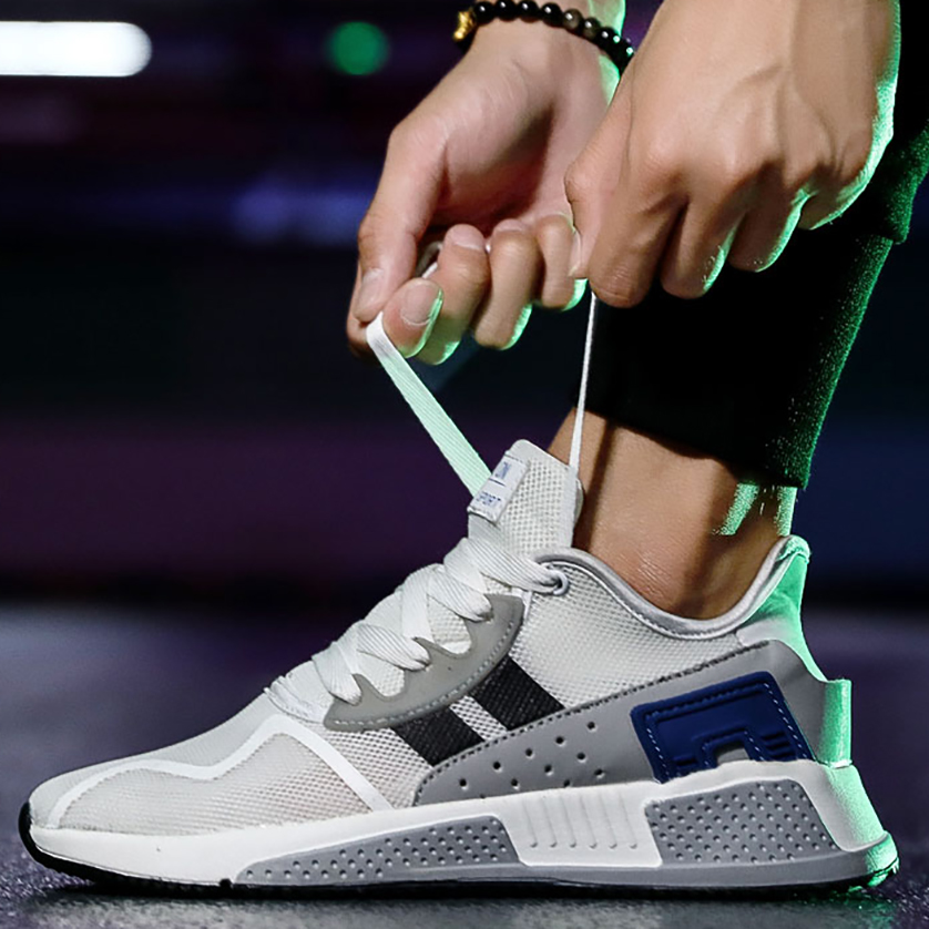 003 Breathable Lace UP Style Youth Sneakers Fitness Running Shoes Man