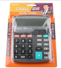 2016 New Original Truly Model 842-12 Desktop Office Calculator