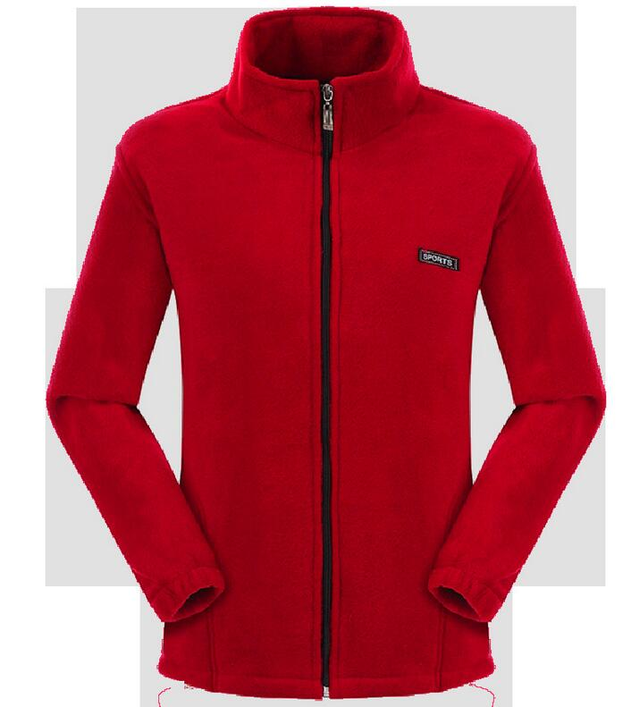 2020 Hot Sale Warm Solid Outdoor Plus Size Mounting High Quality Softshell Thermal Trekking Clothing Fleece Hiking Jacket(China)