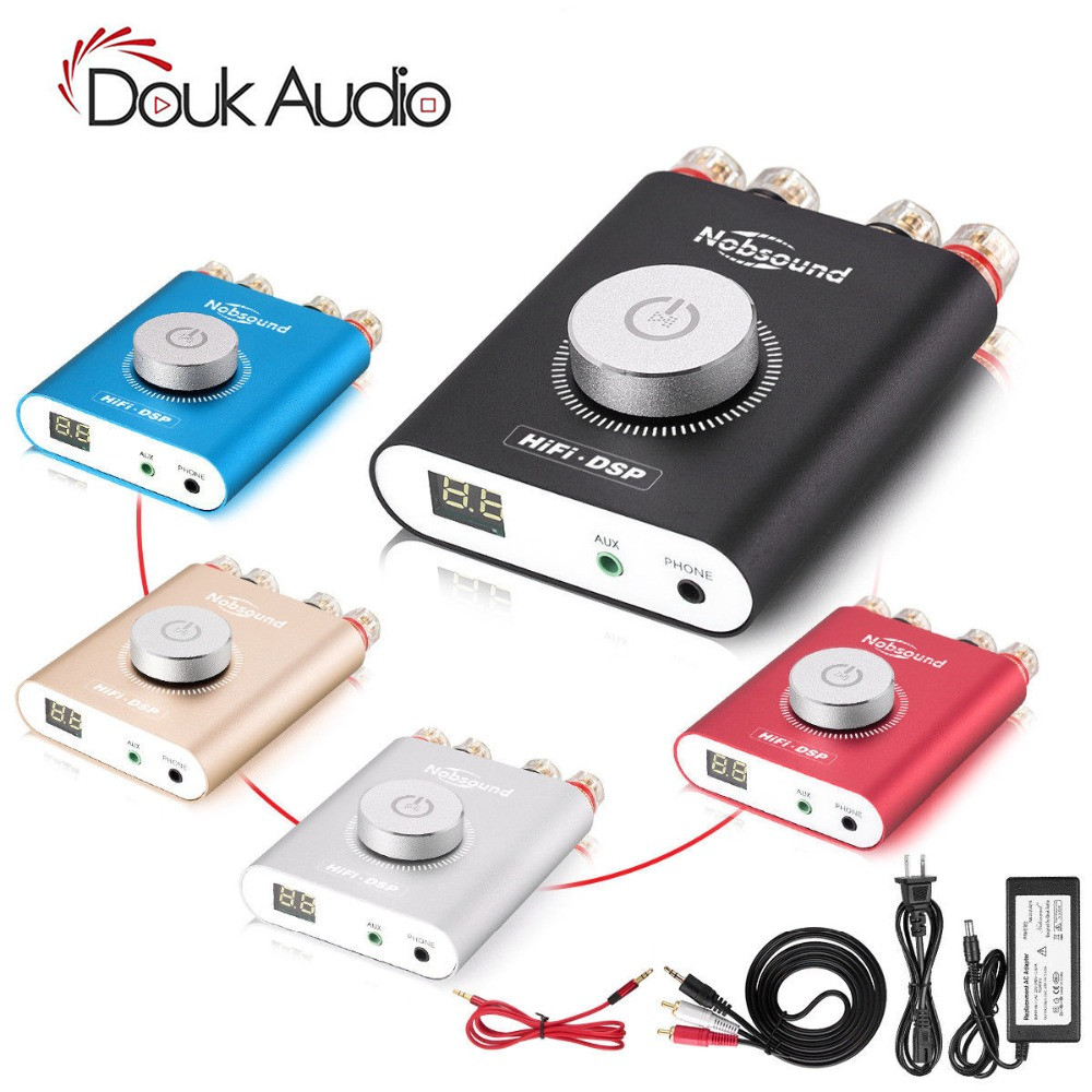 Douk audio HiFi NS 20G Mini Bluetooth 4 2 TPA3116 Digital Power Amplifier Hifi DSP Stereo