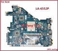 Placa madre del ordenador portátil para acer aspire 5552g nv50a la-6552p mbr4602001 pew96 l01 100% tsted bueno