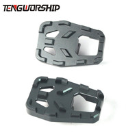 Teng Worship Motorcycle Billet MX Wide Foot Pegs Pedals Rest Footpegs for BMW F750GS F850GS F750 GS F850 GS