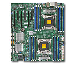 OEM X10DAC Integrated LSI3008E5 Dual 2011 Pin C612sas Graphics Workstation Motherboard