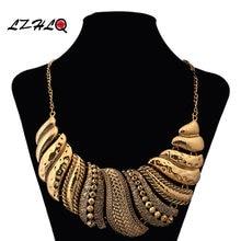 Lzhlq 2020 модное богемное Макси ожерелье с подвеской в стиле
