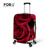 Grosso tampas de proteção de bagagem à prova d ' água para 18 - 30 polegada de viagem mala de viagem 3D vermelho flor rosa Elastic bagagem Cove para Trunk caso