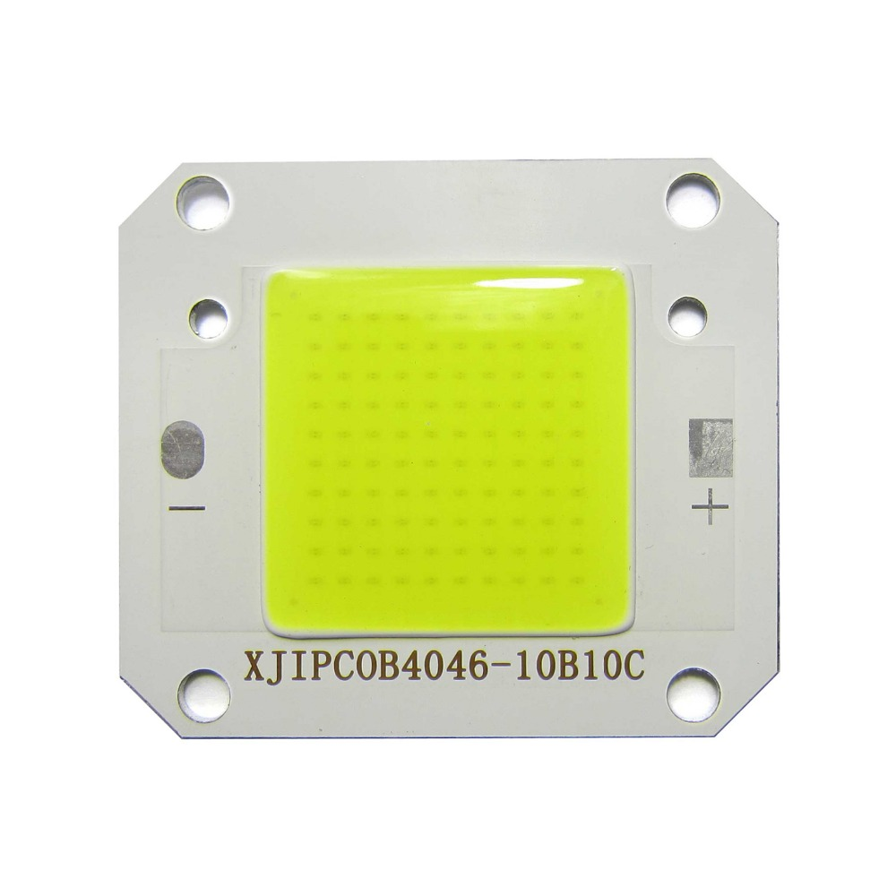 High Power 50W COOL White 6500K COB SMD LED Chip lamp Light / 50W Waterproof Driver power supply for Spotlight Floodlight DIY