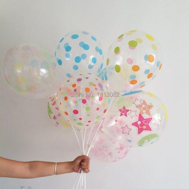 una variedad de colores transparentes globos decoracin de la fiesta de cumpleaos de los nios suministros - Globos Transparentes