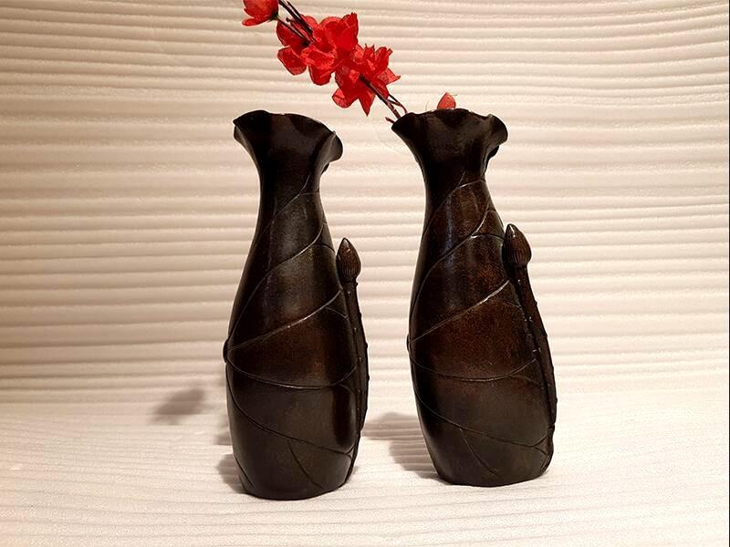 Bronze home decoration vase (2)