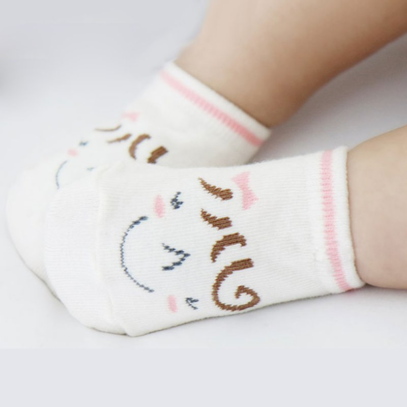 0-3T Kids Girl Boy Soft Cotton Socks Newborn Baby Socks Cartoon Parttern Casual Socks
