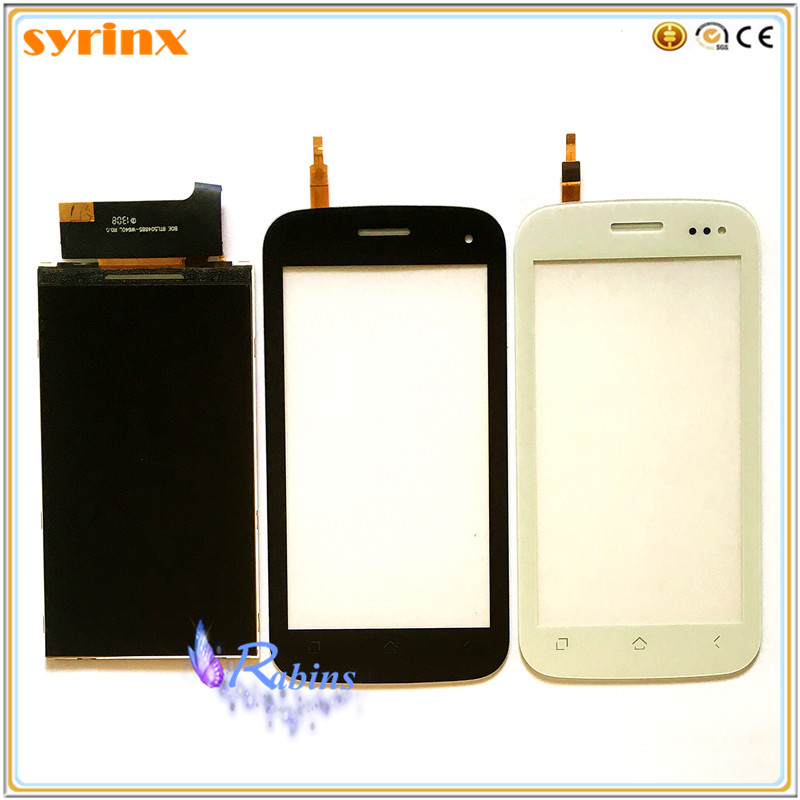 SYRINX Touch Panel LCD Display For Fly IQ450 IQ 450 Horizon Screen Front Glass Digitizer Sensor Touchscreen Replacement