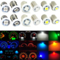 10pcs BA9S 5050 SMD Car LED Dashboard Light Gauge Cluster Bulbs H6W H21W Q65B T4W