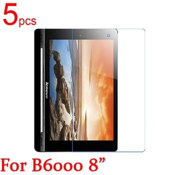 5 шт. Ультрапрозрачная/матовая/нано защитная пленка для ЖК-экрана Lenovo Yoga Tablet B6000 B8000 B8080 H/F 10,1