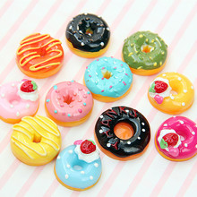 Kitchen-Toys Dollhouse-Accessories Donut-Doll Miniature Food-Play-Decor Candy 10pcs 1:24
