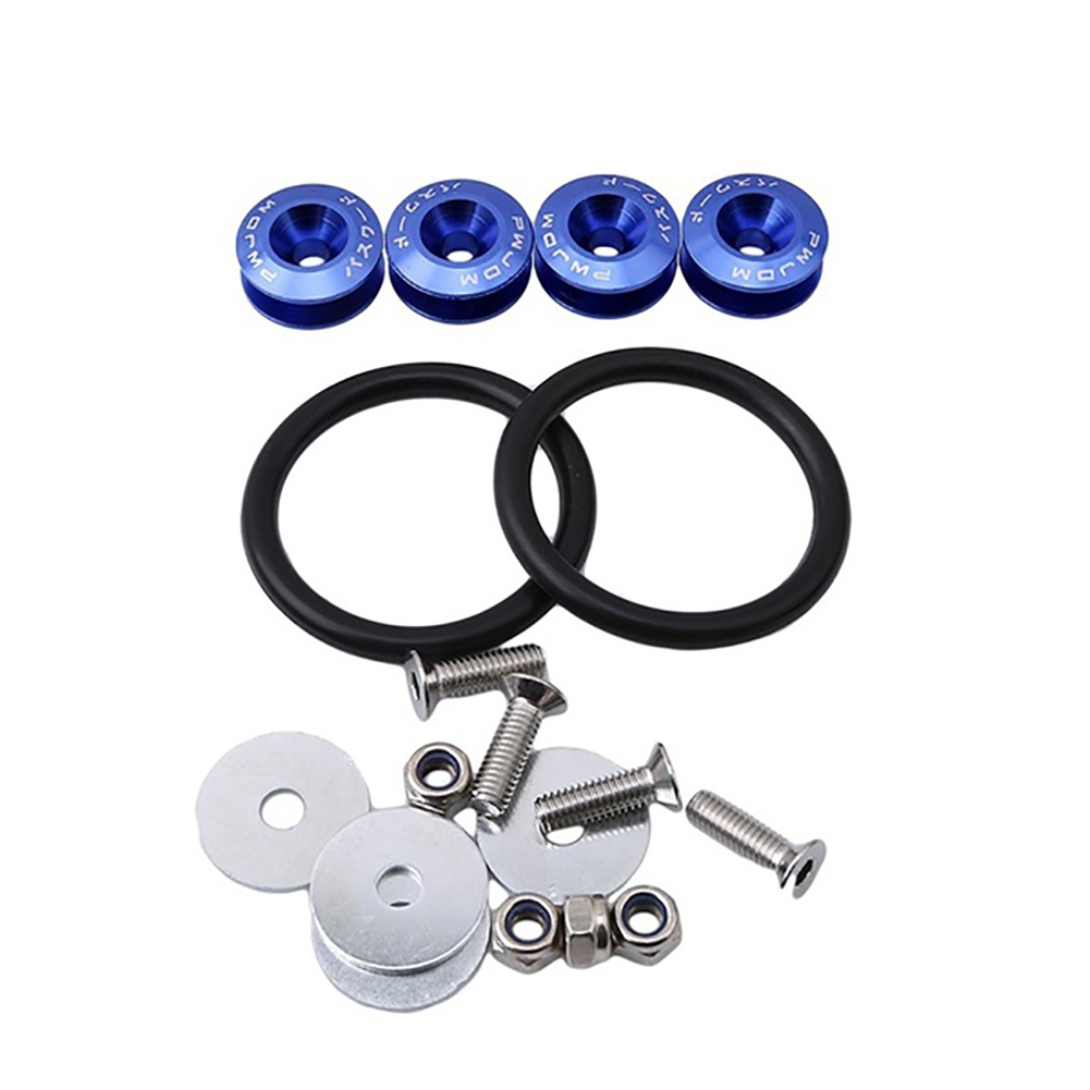 Car Quick Release Bumper Trunk Fender Hatch Lids Fasteners Fixing Screws Kit in Auto Fastener Clip from Automobiles Motorcycles