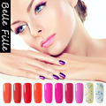 237 Pure Color Gel Nail Gelpolish gel-lacquer Glaze Glitter Glue 10ml Soak Off Gel Polish Nailpolish Led UV Lamp