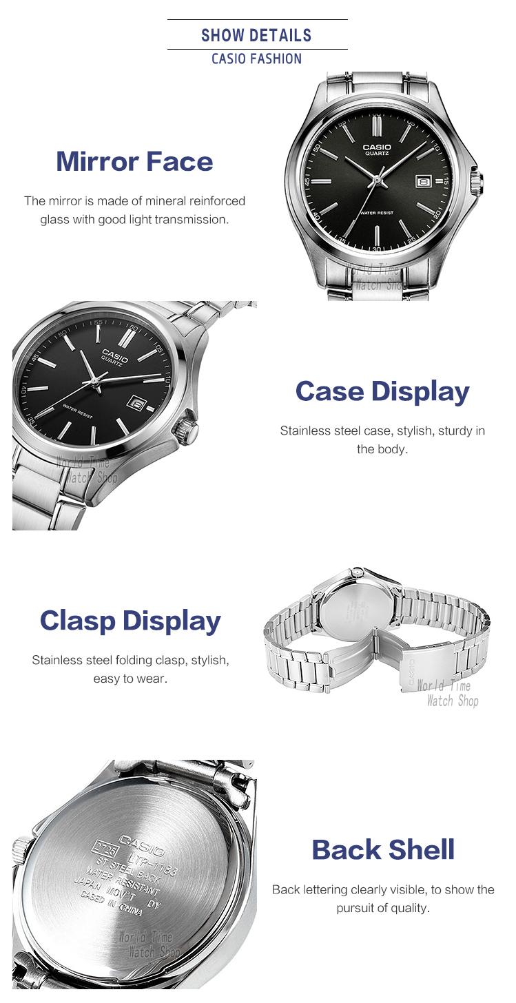 Casio Watch Analogue Mens Quartz Simple Daily Waterproof Ltp 1378l 2e Women Blue Getsubject Aeproduct