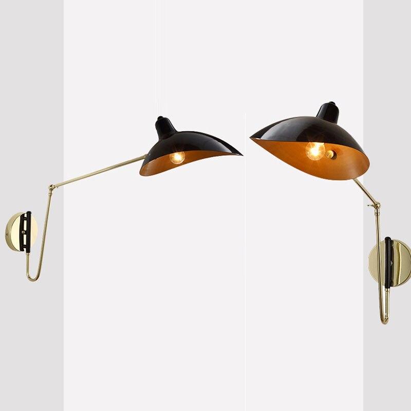 5W 110-220V LED Lamp Wall Light Industrial Decor Metal Wall Lights Bedroom Living Room Wandlamp E27 Loft Stairs Wall-Sconce DA