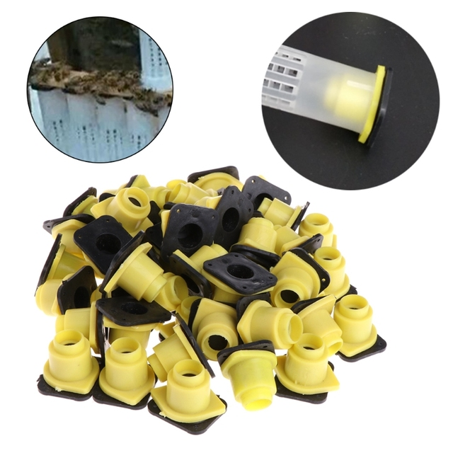 50Pcs Beekeeping Tools Bee Queen King Cage Case Anti Bite Accessories Equipment