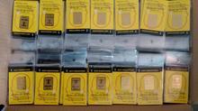 工場wholes 24kゴールド放射線ステッカー携帯電話とradisafe抗放射線ステッカー100ピース/ロット