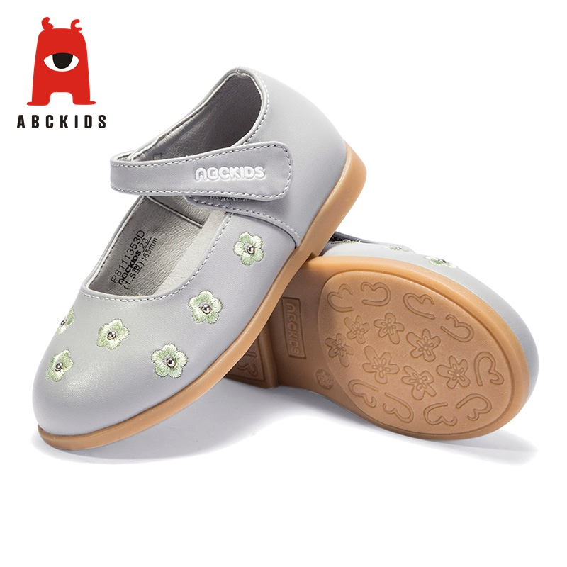 ABC KIDS Spring Girl Breathable Anti-Slip Casual Walking Shoes Floral Print Sneakers Soft Soled