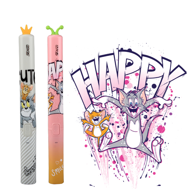 SEAGO Children Cartoon Electric Toothbrush Kid Cute Soft Dupont Bristle Waterproof Rechargeable Ultrasonic Sonic Teeth Brush EK9