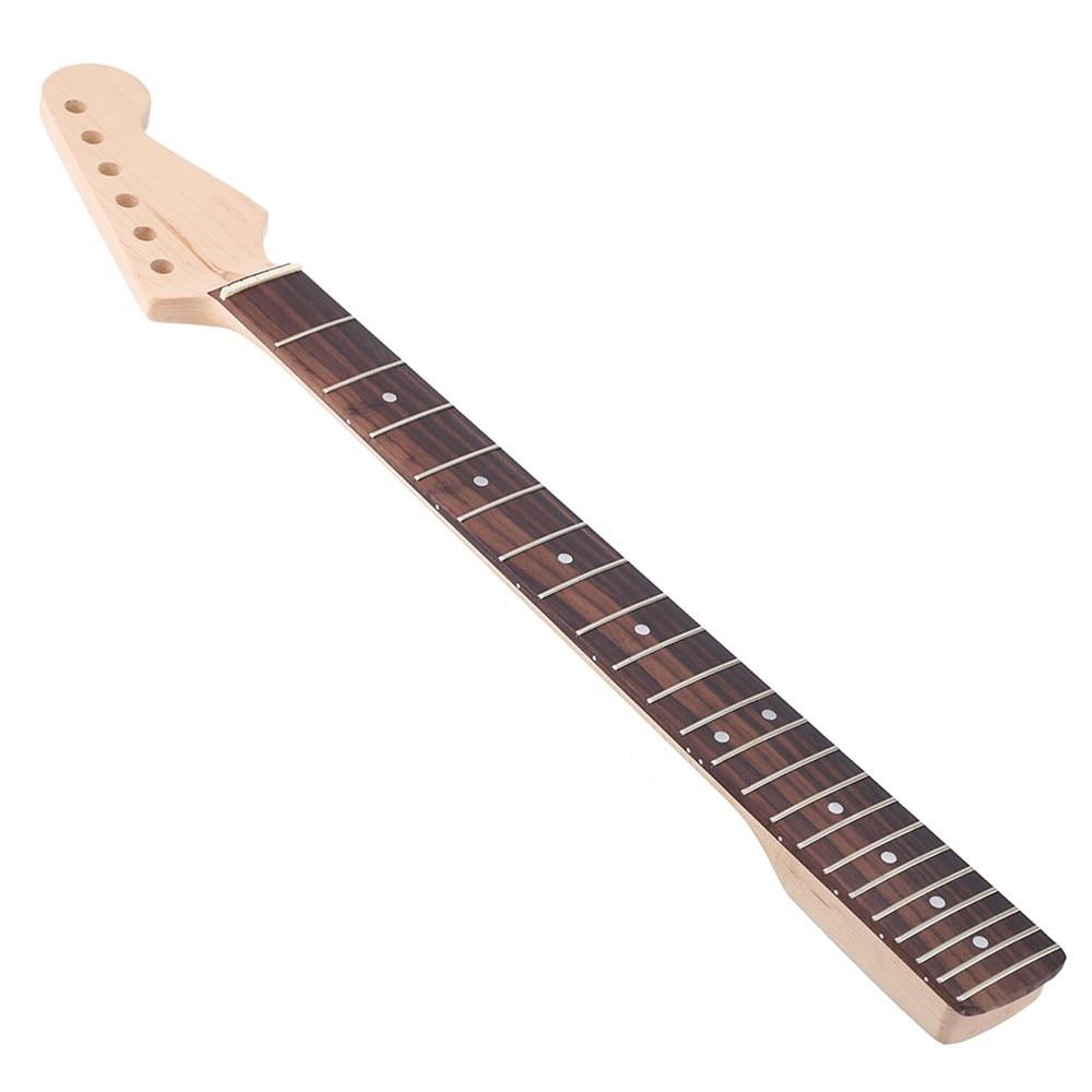 Guitare électrique cou érable touche guitare cou pour guitares électriques (st-strat Stratocaster)
