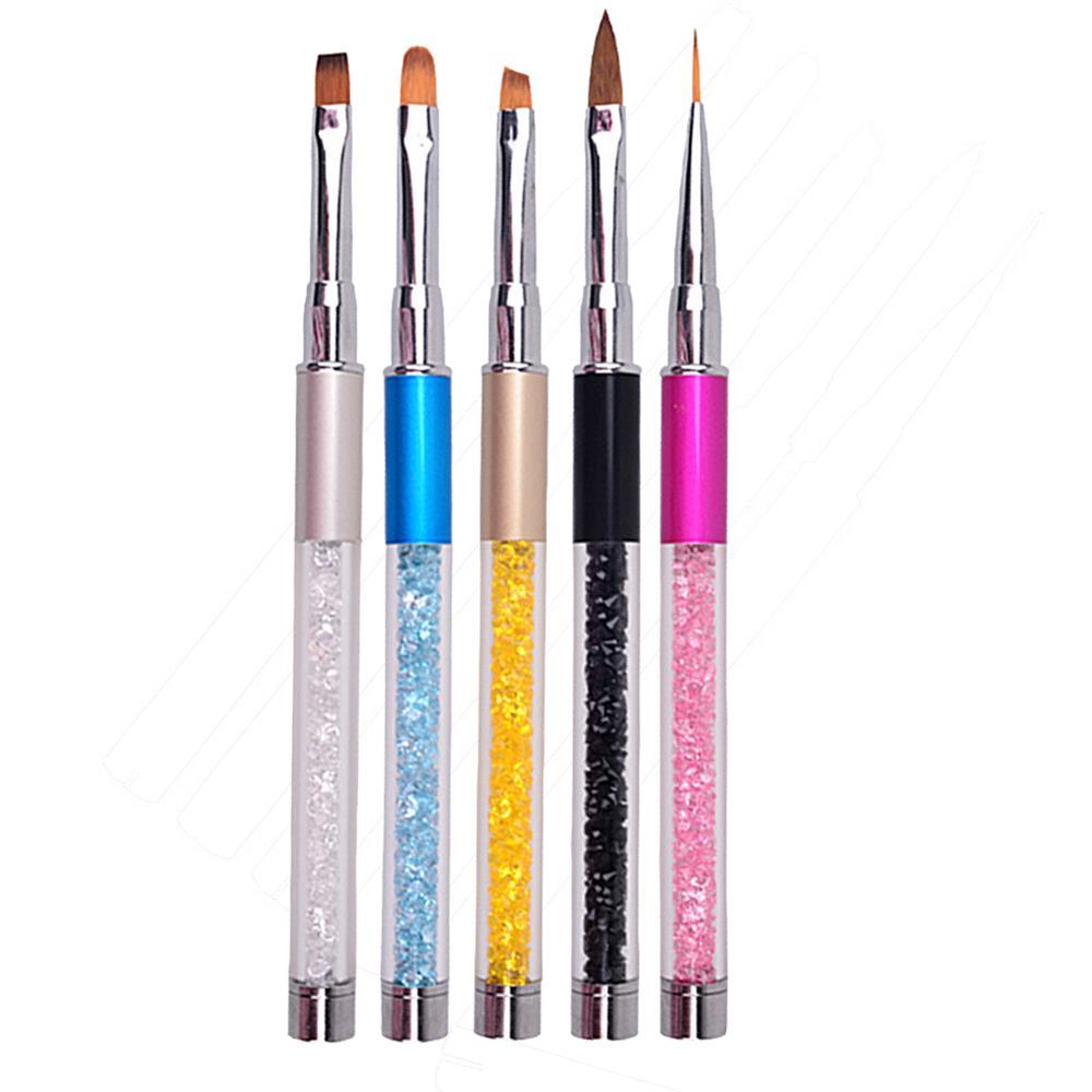 ②Dotting Pen Marbleizing Tool Nail Polish Paint Manicure Dot Nail ...