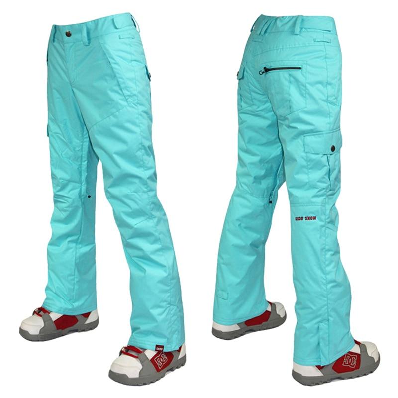 Pantallona të skive dëbore Gsou pantallona të grave për dëborë - Veshje sportive dhe aksesorë sportive - Foto 2