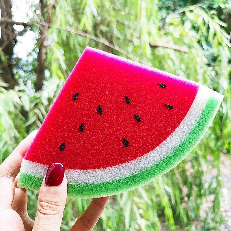 Fluffy Slime Filler Soft Fruit Watermelon Sponge Foam Kids Sludge To Release Toy Slime Supplies