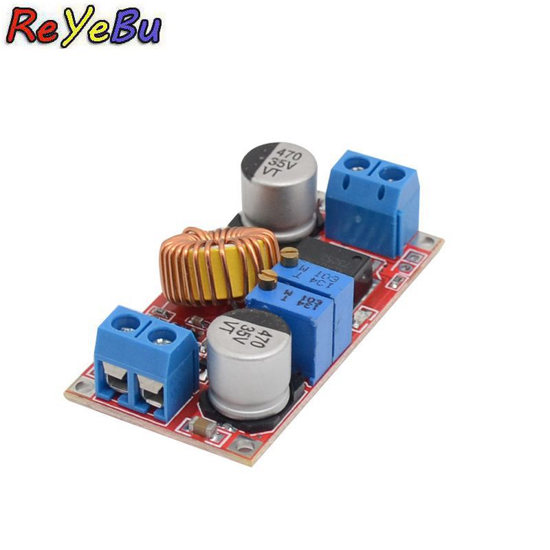 5A constant current LED driver module 5V-32V to 0.8V-30V lithium ion battery charging constant voltage DC-DC power module