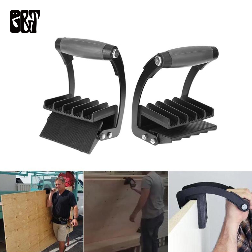 GT Easy Panel Gripper Panel Labor Saving Handy Grip Board Lifter Plywood Wood Panel Carrier Free Hand Furniture Dropshipping