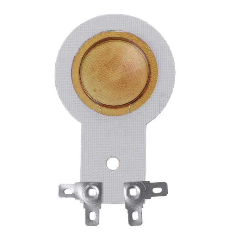 2 sztuk 25.5mm 24.5mm Horn Treble Film żywica membrana napęd głowy głośnik wysokotonowy cewka drgająca