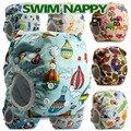 Bebé Swim Pañales Reutilizables 1 UNID chicos o chicas de Dibujos Animados traje de Baño de Los Niños ajustables Pañales de natación de verano pantalones