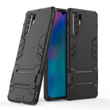 For Huawei P30 Pro Case Luxury Robot Hard Back Phone Cover Coque Fundas