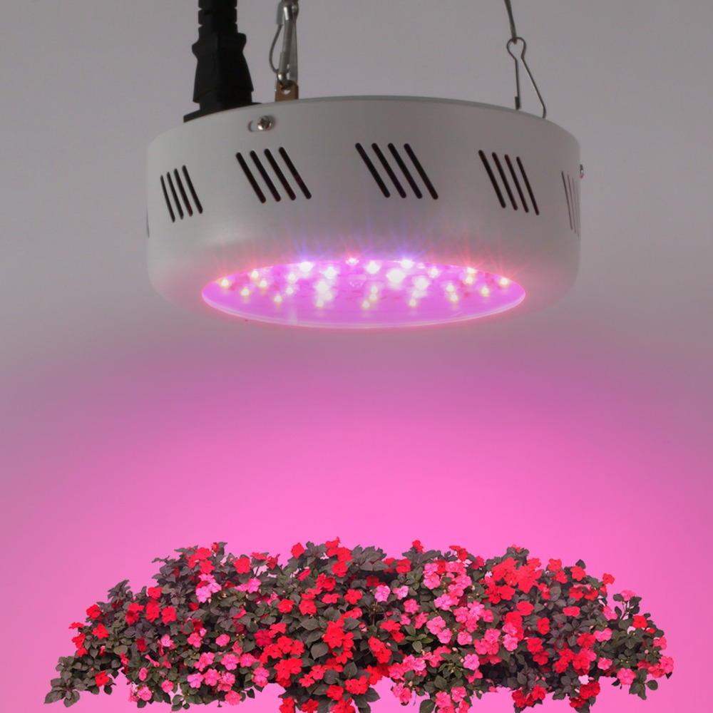 138W UFO Full spectrum High Power Led grow lights flowering for home grow indoor plants flowers 46X3w lighted christmas tree 200w full spectrum led grow lights led lighting for hydroponic indoor medicinal plants growth and flowering grow tent