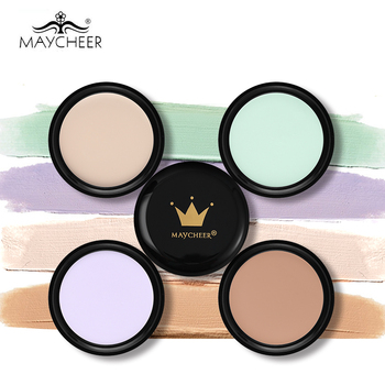 MAYCHEER Make Up Camouflage Concealer Cream 10 Colors Optional Moisturizing Oil control Waterproof Contour Makeup Face