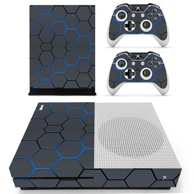 New Fashion Games Skin Stickers For Xbox One Slim Console Controllers Skins Sticker Xboxone