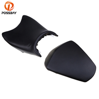 POSSBAY Motorcycle Front Driver Seat And Rear Passenger Seat Pillion for KTM 390 Motorcross Motorbike Rear Passenger Seat Pad