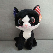 523c8db3 Ty Beanie Boos Plush Animal Doll Toy Unicorn Black Cat Elephant Penguin Dog  Rabbit Giraffe Panda