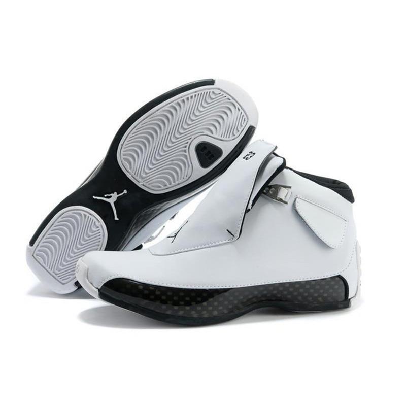 Jordan Air Retro 18 Men Basketball Shoes Red Black White Blue XVIII Breathable Jogging Athletic Outdoor Sport Sneakers