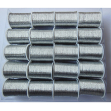 wholesale 20 roll silver beautiful gold thread embroidery thread sewing line