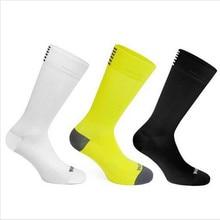 Высококачественные Профессиональные брендовые дышащие спортивные носки для шоссейного велосипеда, мужские и женские уличные спортивные гоночные велосипедные носки